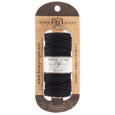 Black Hemp Cord Spool